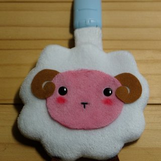 Bucute lamb amulet. Yu Shou sets / special baby / handmade / month indemnity gift