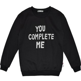 British Fashion Brand -Baker Street- You Complete Me Sweater
