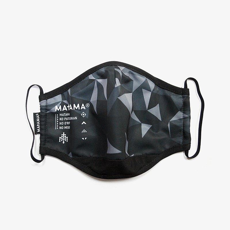 Matama / 21 - Protective Mask 有機系抗菌防潑防護口罩 碎冰款