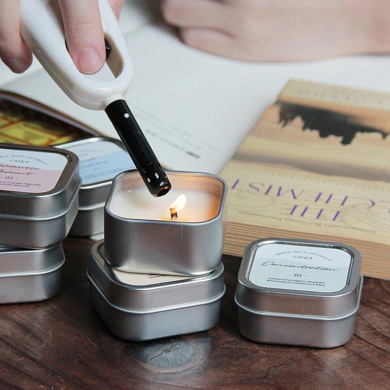 旅行精油蠟燭 - 6款日常複方香氣 (使用非基改大豆蠟)