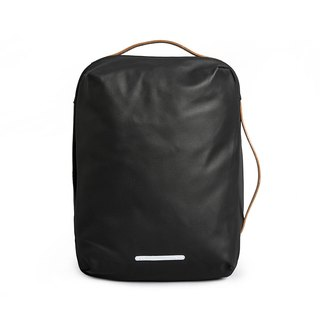 Canvas Series-13吋Three Classic Back Backpack (Back/Hand/Shoulder)-Ink Black-RBP270BK