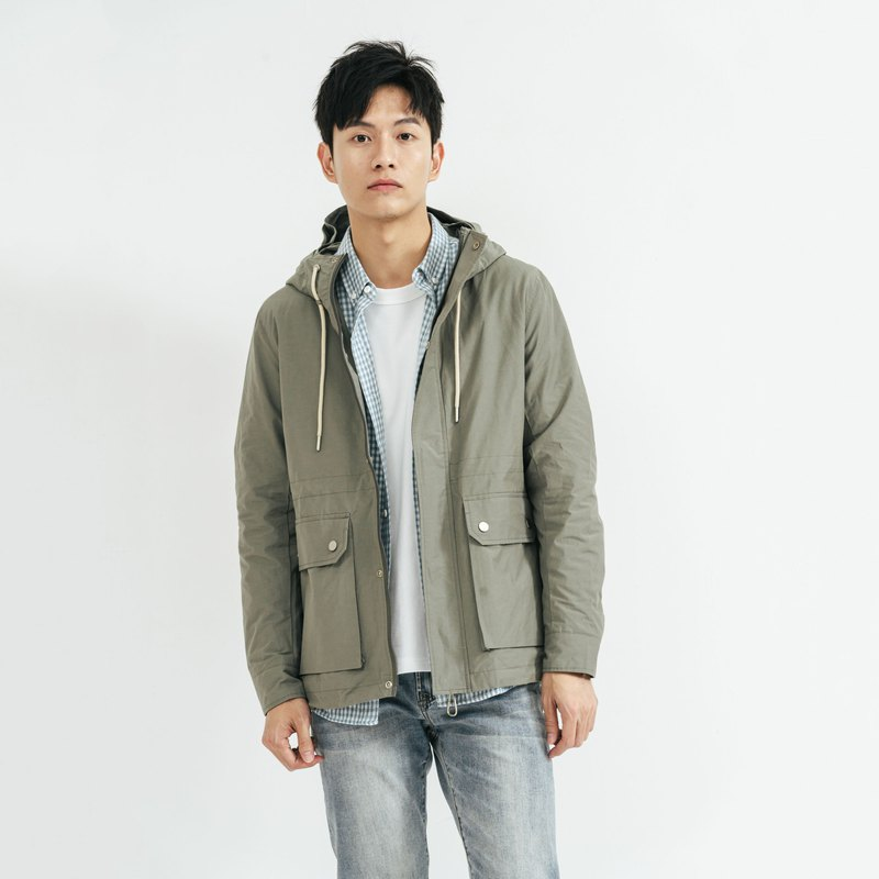 JERSCY hooded jacket