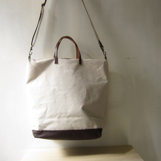 Heavy-duty canvas crossbody bag