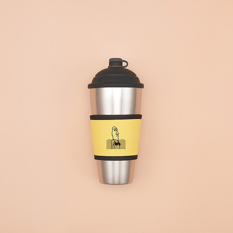 YCCT Thermos Cup Set-Moai Little Witch-A good coffee partner