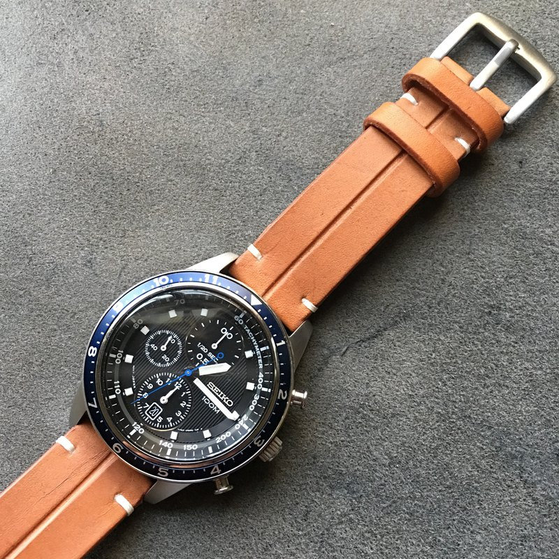 da03b1a8bf14f2 leather watch strap, watch band, custom made - Designer kohi youbi handmade  leather | Pinkoi