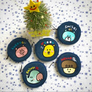 Embroidery color round package 5 choose 2