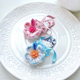 And wind cloth flower lace ribbon resin flower child child drop clip bangs clip