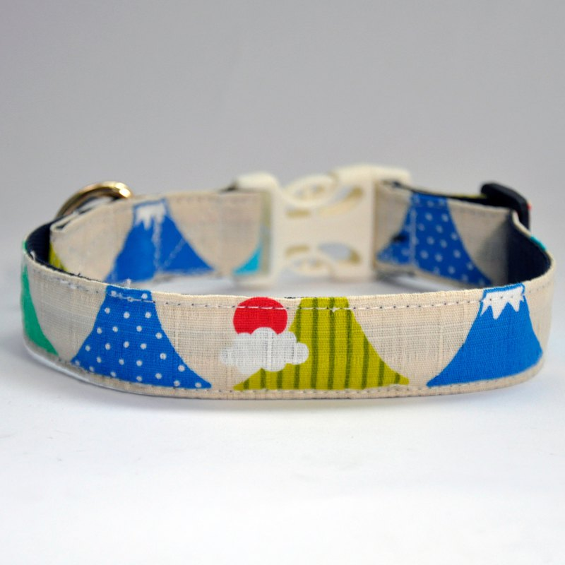 Pet light collar collar light collar dog collar collar a row of Mt. Fuji