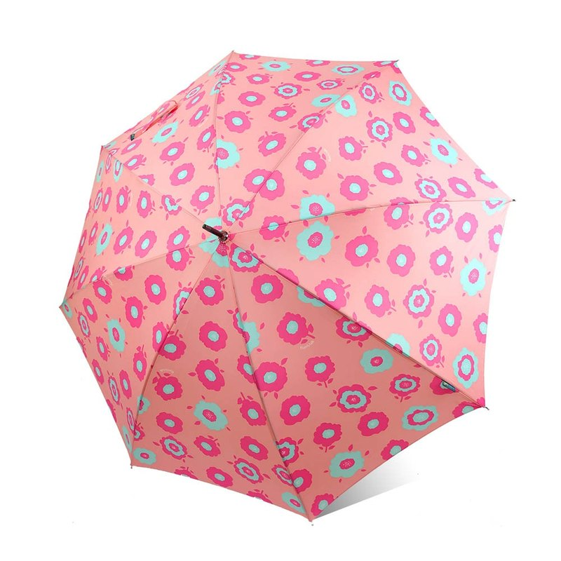 [Taiwan's Cultural Rain's talk] Ye Yan flowers anti-UV straight umbrella