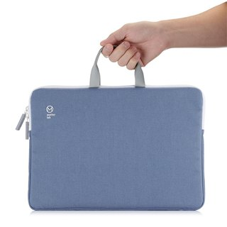 "Matter Lab BLANC MB13 ""2Way Handbag - Quiet Blue"