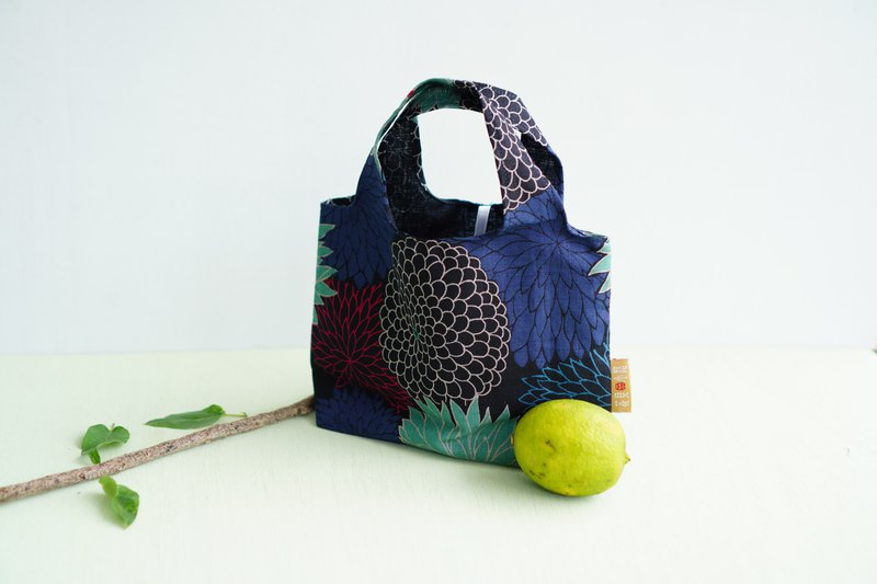 Day of Life | Daxie Fireworks Flower. Breakfast Storage Bag (S). Environmental Protection. Handmade.