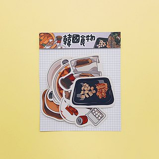 Korean Food / Stickers