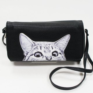 Peeking Cats Wallet