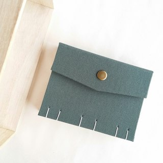[Ordinary green] extraordinary trivial French Coptic line book handmade book manual notebook