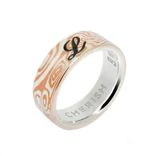 Mumu Gold - Imprint Coffee Ring