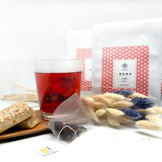 Fruit tea raspberry than the rich | sweet taste of fruit | triangular three-dimensional tea bag 15 into