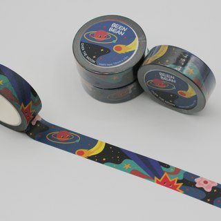 Over the Moon washi masking tape (15mm x 10m paper tape)