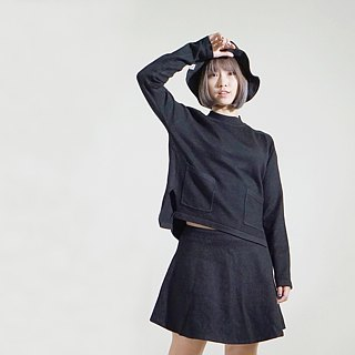 Black Sheep Knit Cotton Top