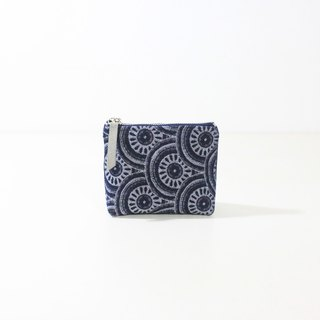 【The MAMA's Closet】Two Colors Denim Cotton (Eye of Sauron) / Coin Bag ( Pouch )