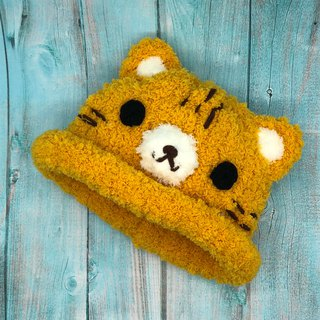 Orange Cat - Wool Knit Baby Woolen Hat Miyue Gifts Christmas Gifts