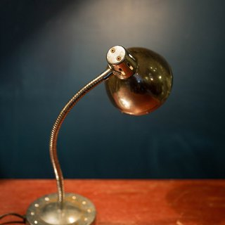 SECLUSION OF SAGE / Silver - Silver snake neck lamp