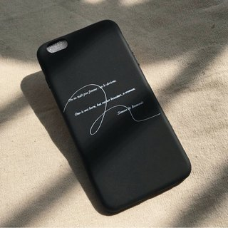 Simon Poova / soft shell / text mobile phone shell iphone, HTC, Samsung, Sony, Zenfone, Oppo, millet