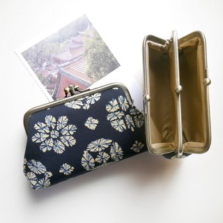 Small-employee two-fold wallet / gold package [Made in Taiwan]