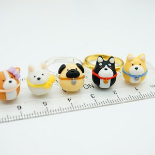 Dog Series Finger Ring