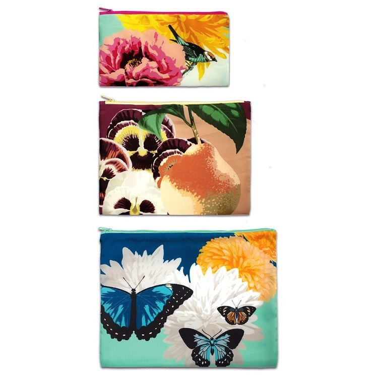 LOQI into three groups pouch / Animal and Plant ZPBO
