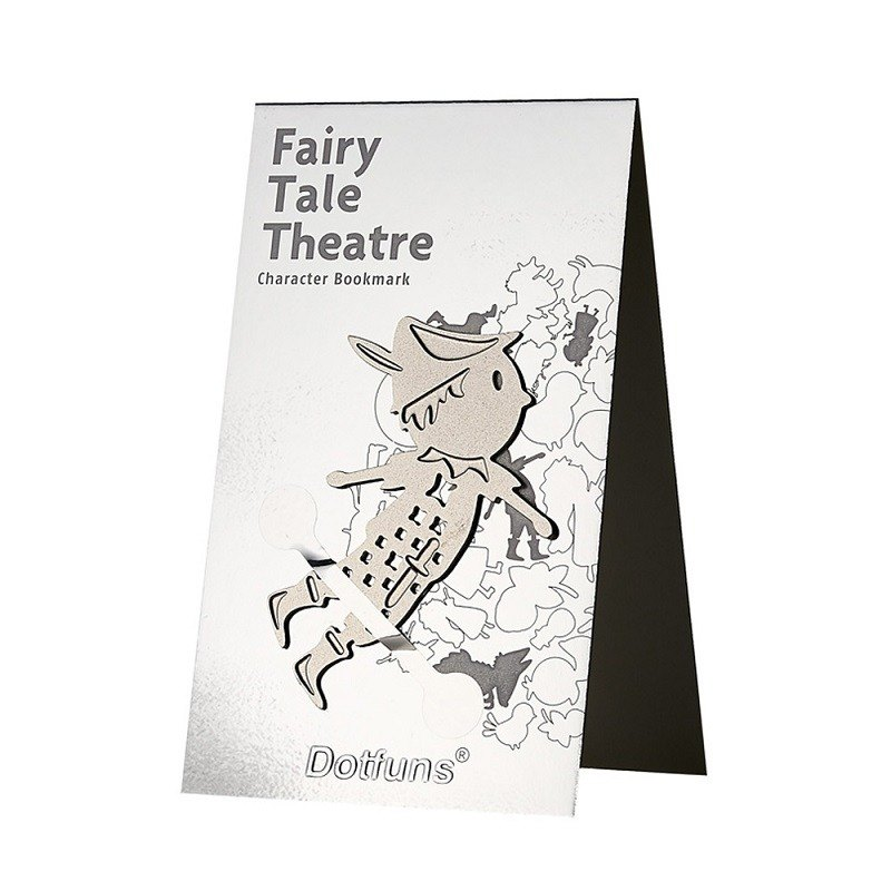 Fairy Tale Stage Role Bookmark / Peter Pant