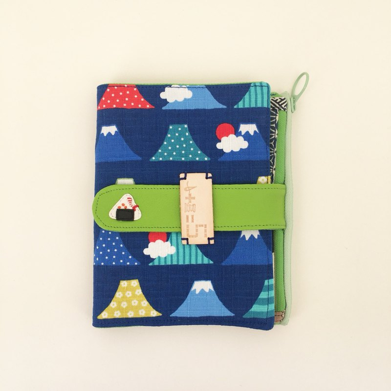 *Japanese rice ball folder & passport holder*