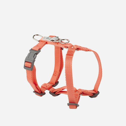 [Tail and me] classic nylon belt chest strap pink orange XS