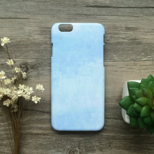 Blue Macaron Watercolor. Matte Case( iPhone, HTC, Samsung, Sony, LG, OPPO)