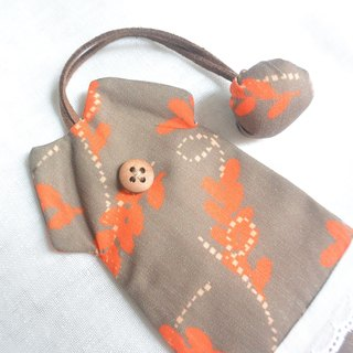Feel the dress key bag - autumn leaves