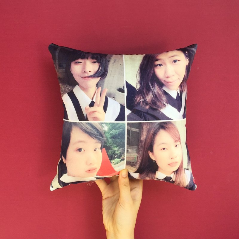 【Fun Print】 customize 4 Grid Photo Small-Pillow