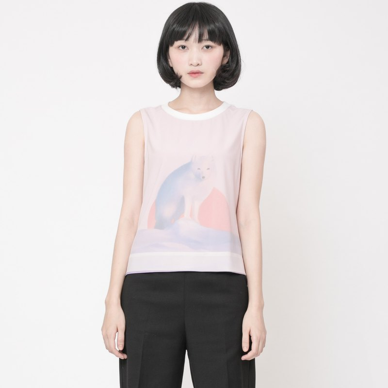 狐狸印花背心 Arctic Fox Printed Tank Top