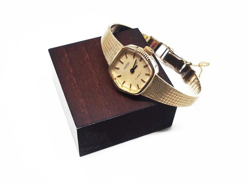 1970s HOGA Swiss gold mechanical watch