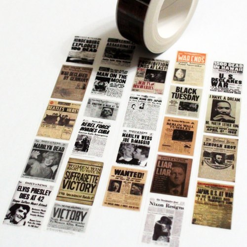 Masking Tape Headline News