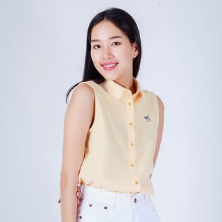DOLPHIN // yellow // women sleeveless