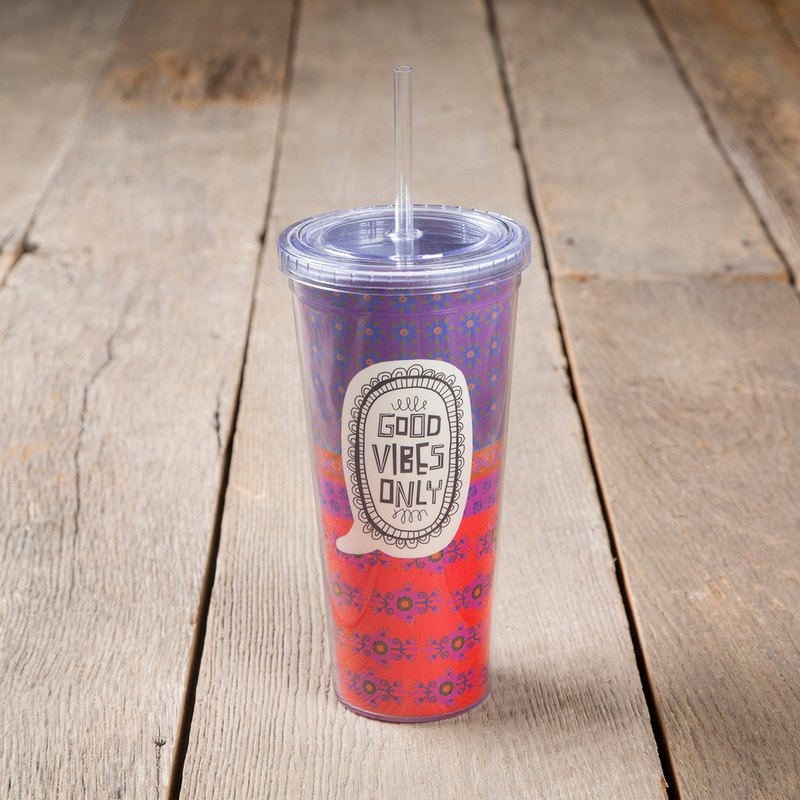 Sipper cups -Good Vibes