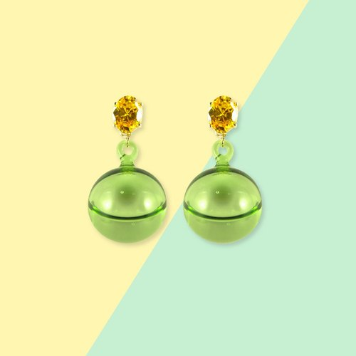 POP earring (lemon)