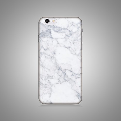 """Shell"" series - the new white marble original phone shell / protective sleeve (hard shell) iPhone / Samsung / HTC / Sony / LG"