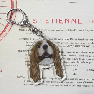 Charles King Beagle - Acrylic Charm (Key Ring) Double Layer