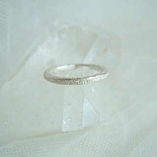 Silver simple ring (2 mm)