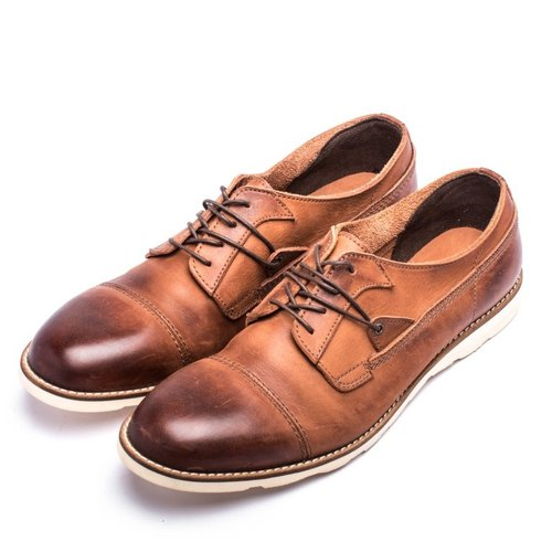 ARGIS Japan's outer feather-type handmade casual shoes -11134 light coffee [Japanese handmade leather shoes]