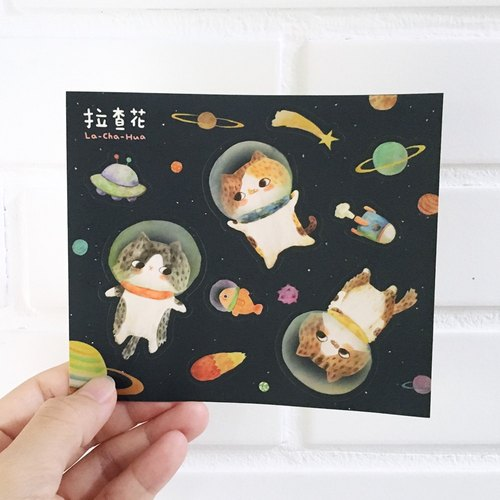 Sticker - Space Cat