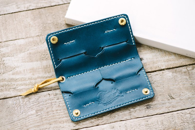 Italy Buttero Leather SD Card Holder / Handmade