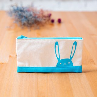 Pencil Pouch hide and seek 100% cotton canvas