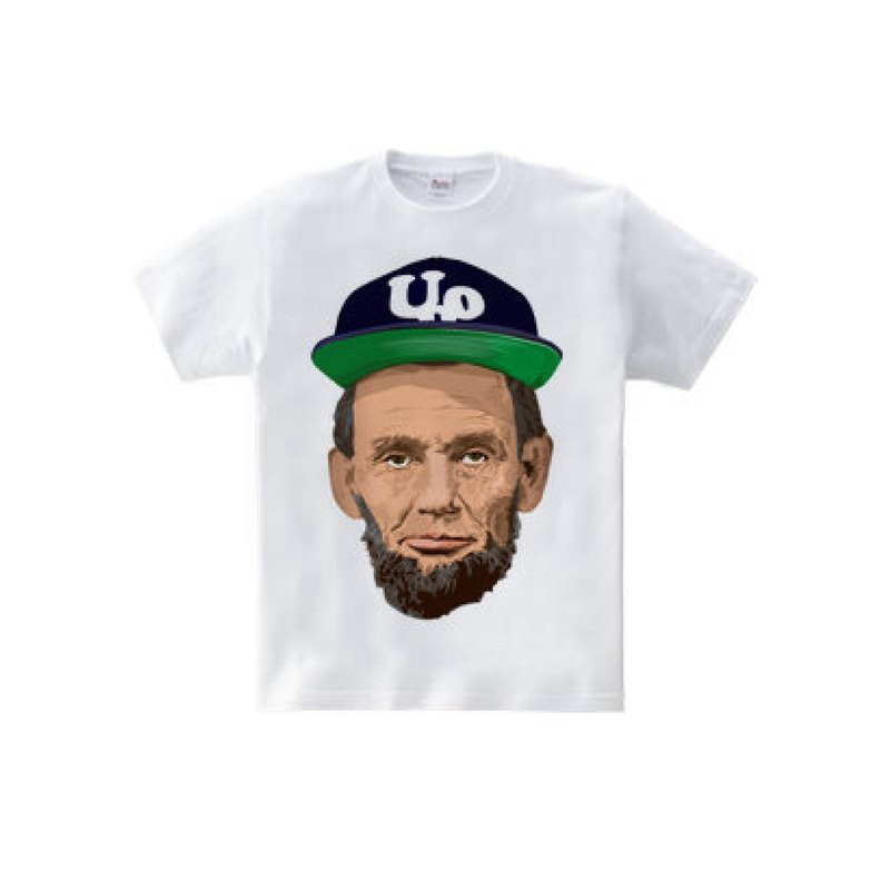 Abraham Lincoln Outdoor c (5.6oz T-shirt)