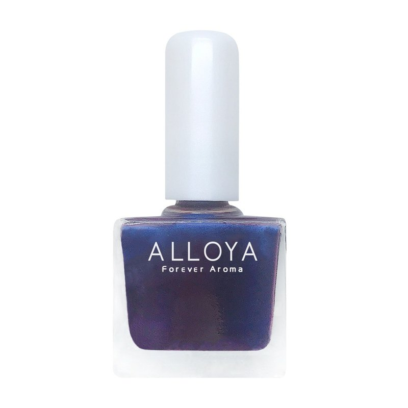 [ALLOYA Ai Ruo Ya] Water-based non-toxic finger color 120 can not tell the dream - cat eye series
